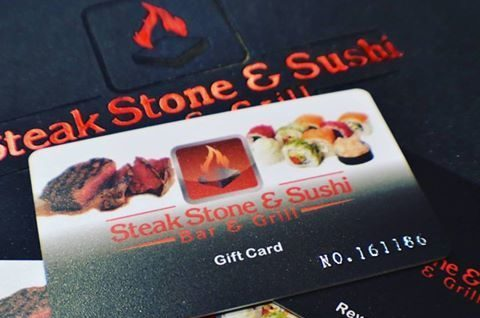 Steak Stone Sushi Gift Card